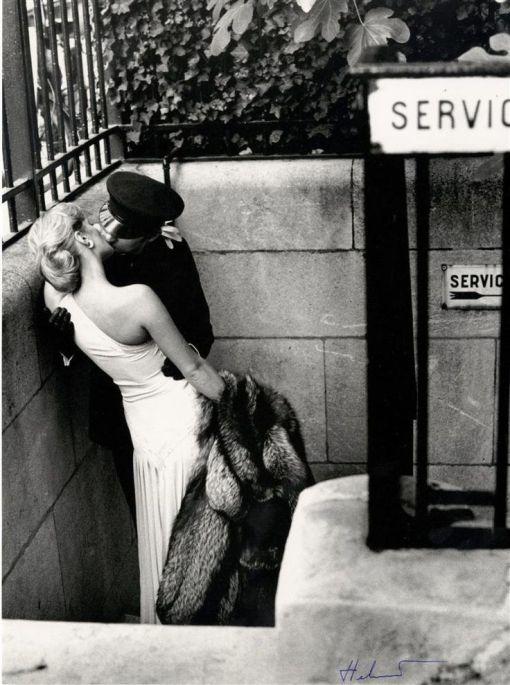 Vogue Francia 1976 por Newton.